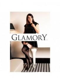 Bas grande taille - bas grande taille classique pour porte-jarretelles noir Glamory perfect 20