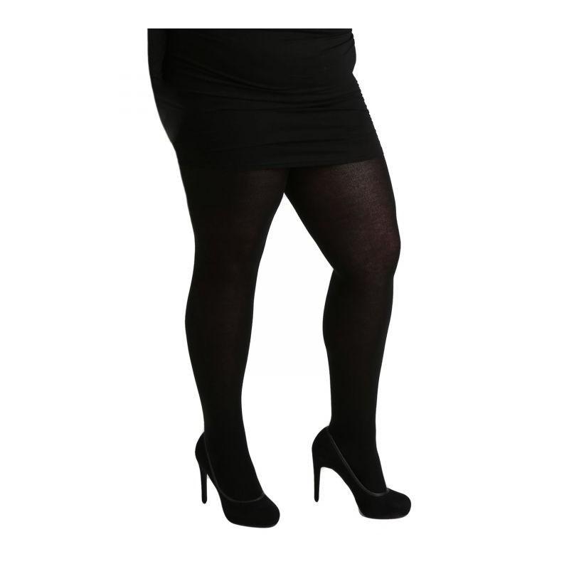 collants opaques noir 90 deniers pamela mann maxi. Black Bedroom Furniture Sets. Home Design Ideas