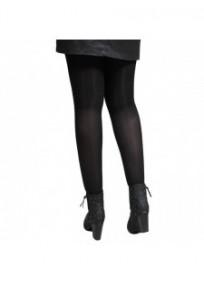 Collant grande taille coloré - collant noir opaque