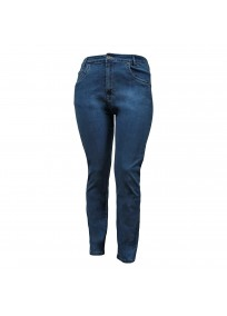 jean grande taille - jean slim bleu nanabelle (face)